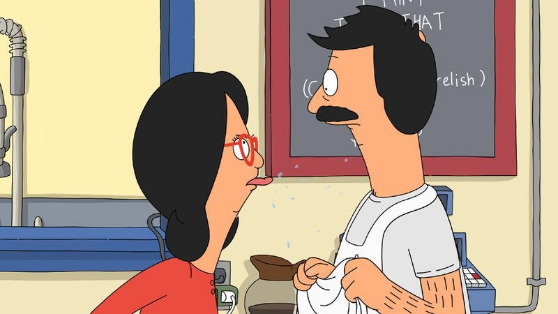 "Illustration for article titled Bob's Burgers: ""Lindapendant Woman"""