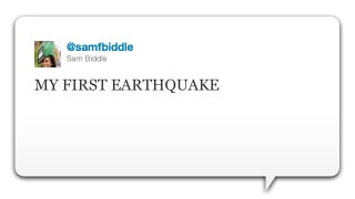 Illustration for article titled Yesterday's Earthquake Caused More Twitter Traffic than Bin Laden's Death
