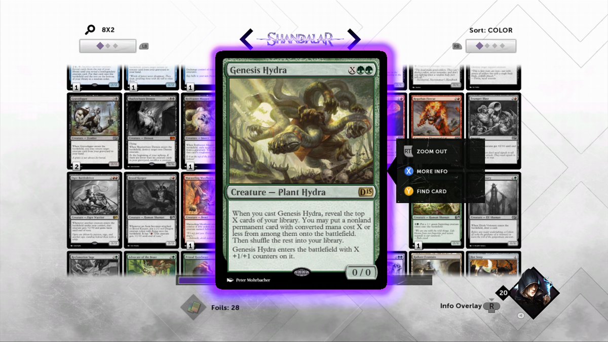 Duels of the Planeswalkers 2015: Full Deck-Building, But At