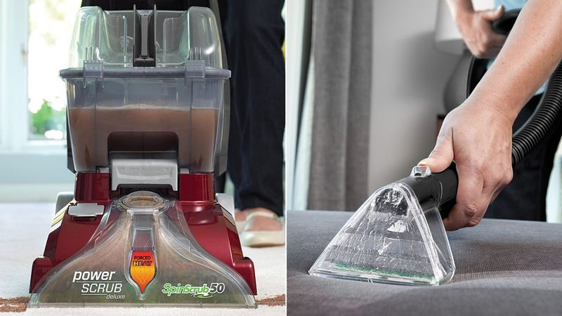 Hoover Power Scrub Deluxe Carpet Cleaner, $96