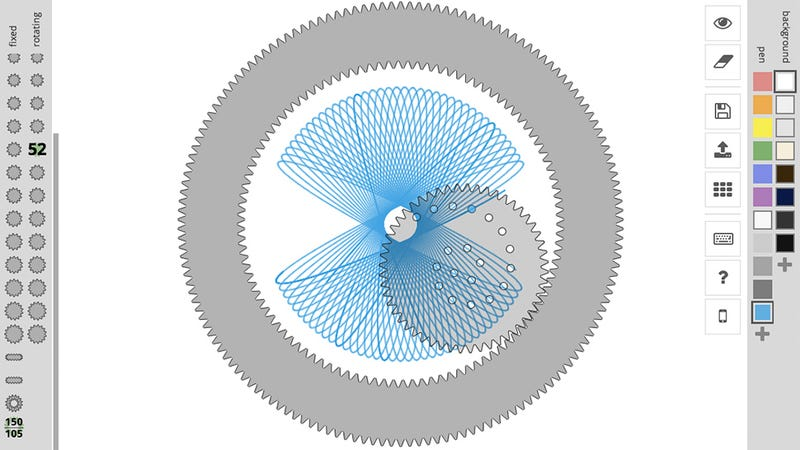 Illustration for article titled Indulge Your Inner Child and Lose a Few Hours To This Online Spirograph