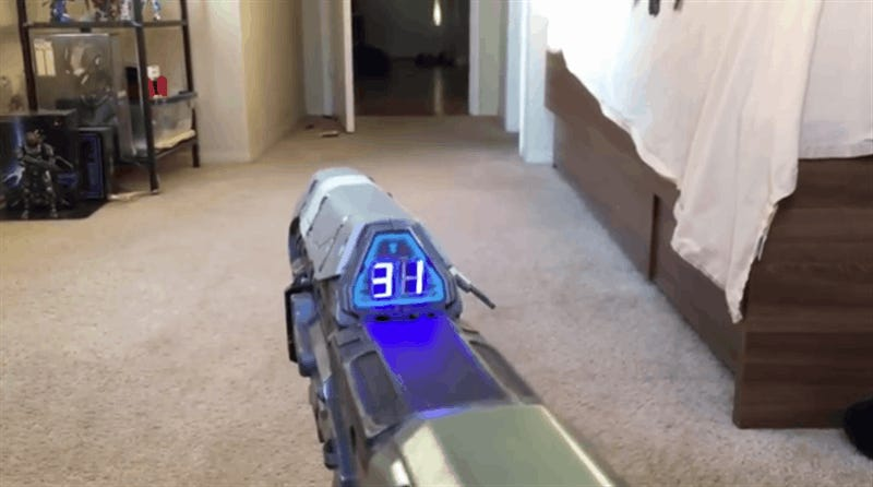 Halo Gun Counts Your Ammo In The Real World
