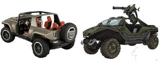 Illustration for article titled Detroit Auto Show: Hummer HX and the Halo Warthog, The Final Word