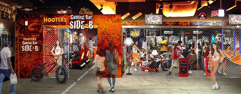 Illustration for article titled Hooters and Namco Are Opening a New Arcade in Tokyo