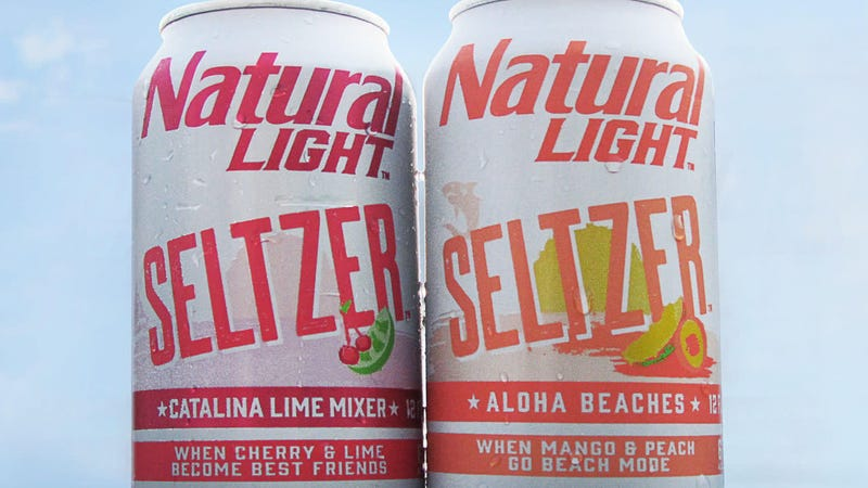 Illustration for article titled We thought Natty Light already was hard seltzer