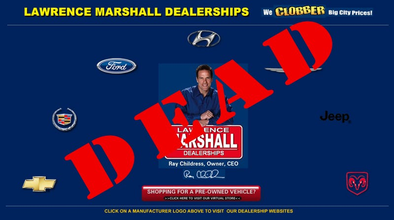 Illustration for article titled Lawrence Marshall Chevy, Dodge, Ford: Another Massive Texas Auto Dealership Closes