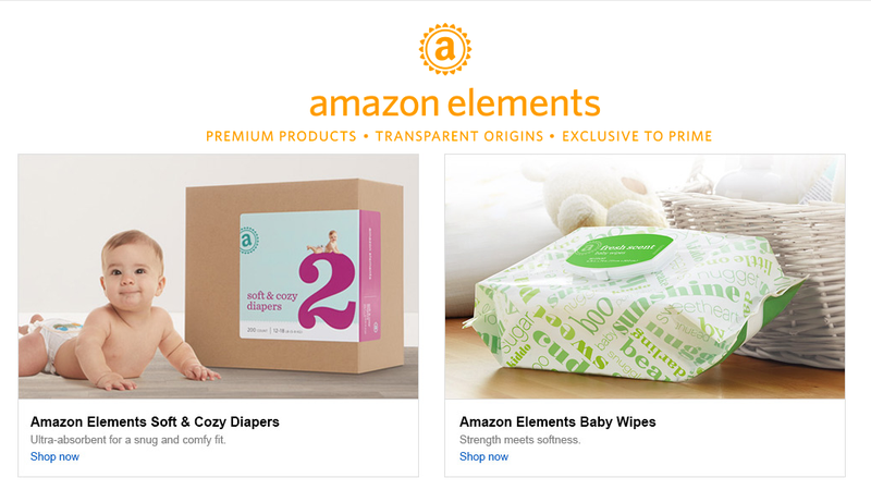 Illustration for article titled Amazon's Selling Its Own Diapers and Baby Wipes for Prime Members Only