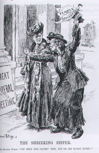 Illustration for article titled When Women Were Women, And Suffragettes Wielded Switches