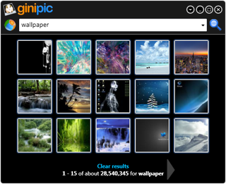 Illustration for article titled Ginipic Makes Image Search Easy
