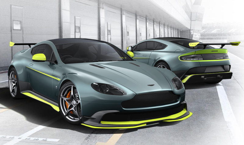 Illustration for article titled How Would You Spec Your Aston Martin Vantage GT8?