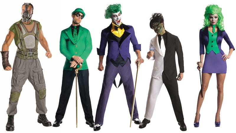 Batman Villains. Halloween Villain Costumes Comstume Source