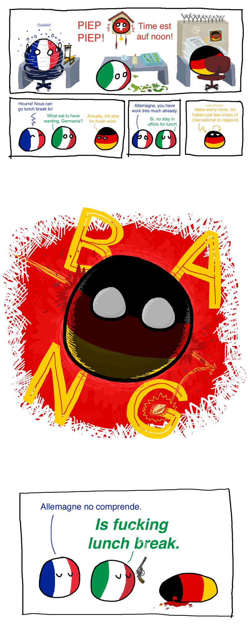 Illustration for article titled More Polandball, because wörk