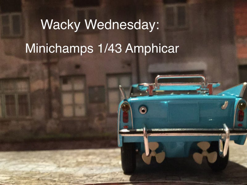 Illustration for article titled LaLD Car Week-Wacky Wednesday: it's an Amphicar, Bro!