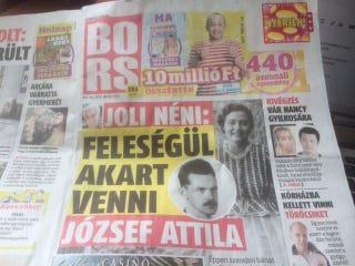 Illustration for article titled Hogy került József Attila a Borsba?