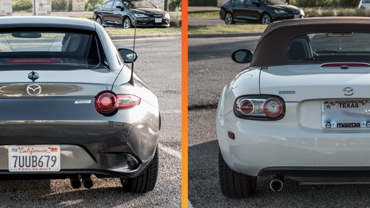 Heres How The Newest Mazda Miata Really Compares To Old One Wiring Diagram As Well Headlight On 92