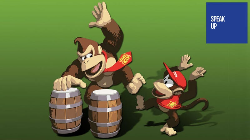 Illustration for article titled Nintendo's Problem Isn't Hardware — They Stopped Making Killer Bongo Games