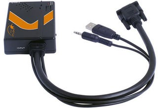 Illustration for article titled Atlona AT-HDVieW Scaler Transforms VGA With Audio to Handy HDMI