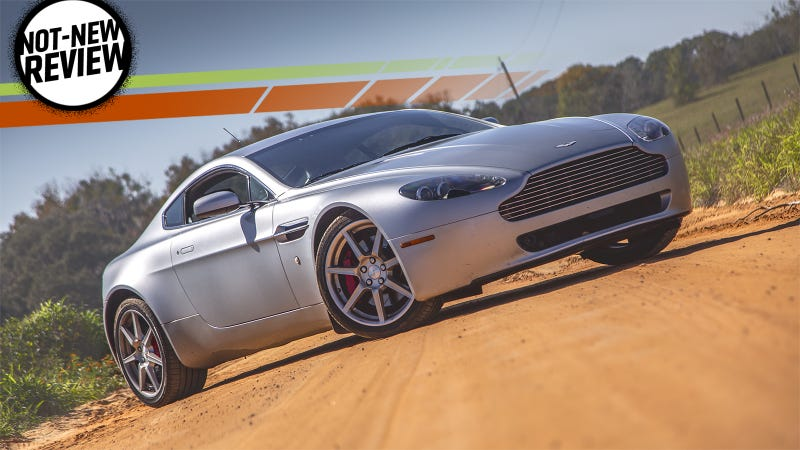 The Aston Martin V8 Vantage Is Best Used Exotic Car Value In World