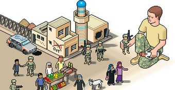 "Illustration for article titled U.S. Army Trains with ""SimCity Bagdad"""