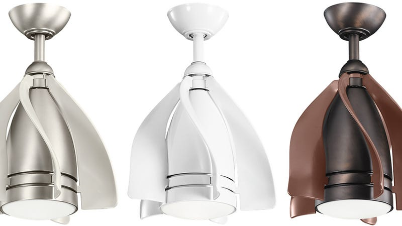 A Smaller Ceiling Light Fan Combo Can Squeeze Into The