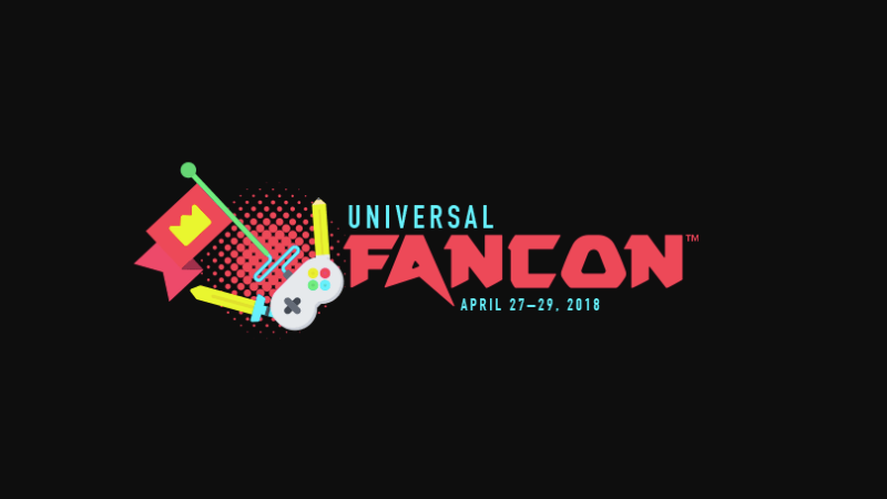 The logo for Universal FanCon