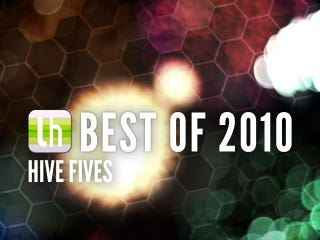 Illustration for article titled Most Popular Hive Fives of 2010