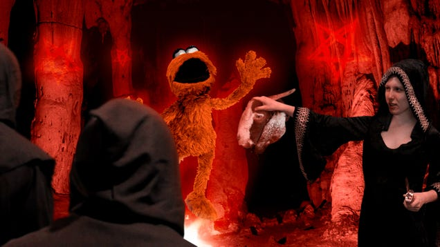 New 'Sesame Street' Character Shudders To Life As Producers Complete Ritual To Imprison Damned Soul Within Puppet