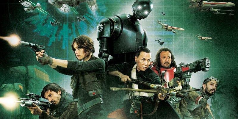 Illustration for article titled He visto Rogue One y es oscura, emotiva y todo lo que esperaba de una película de Star Wars