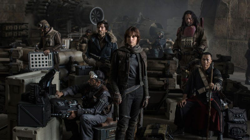 Illustration for article titled Rogue One Images Confirm New Ships, New Characters, and a Major Cameo (UPDATED)