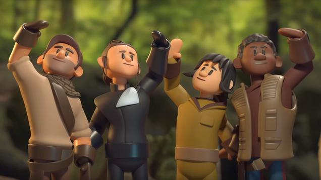 Some people went and animated Colin Trevorrow's unused Star Wars script