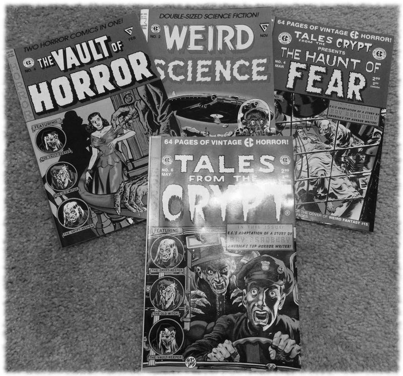 Illustration for article titled Horror Comic Nostalgia