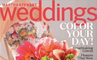 Illustration for article titled 5 Insane Things From Martha Stewart Weddings Magazine, Spring 2015