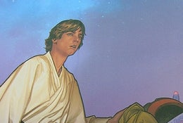 Illustration for article titled Luke Skywalker Owns The Classic Releases Of This Week's Comics