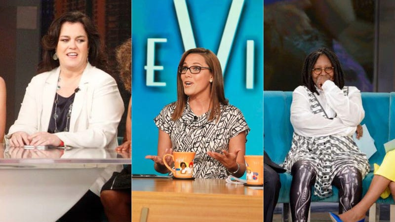 Illustration for article titled The View's Test Episode Was an Awesome Trainwreck