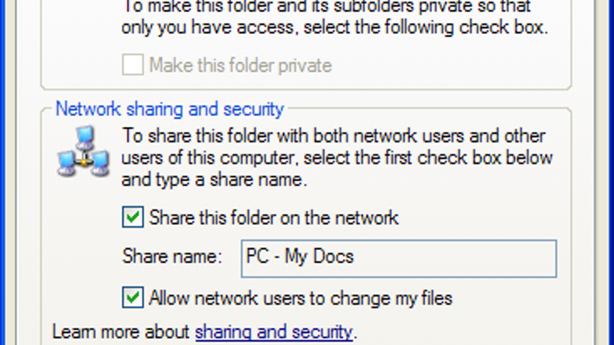 How to mount a Windows shared folder on your Mac