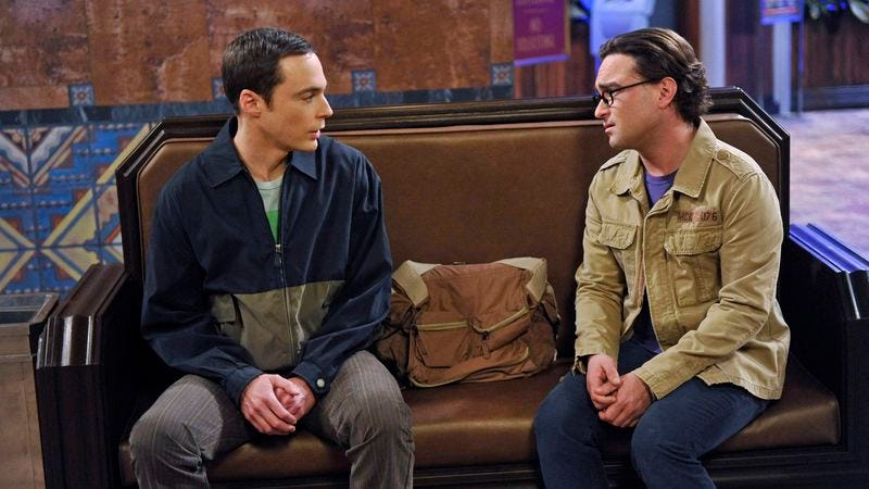 Jim Parsons (left) and Johnny Galecki of The Big Bang Theory (CBS)