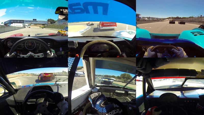 Illustration for article titled 6 Wild Visor Cams From The Rolex Monterey Motorsports Reunion