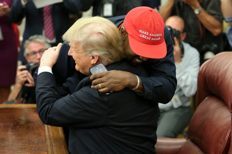 Illustration for article titled Kanye West Met With President Trump and We Need to Talk About It