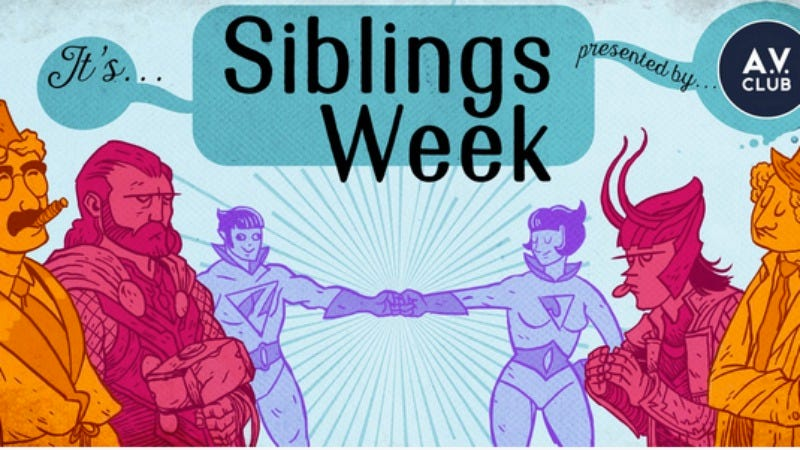 Illustration for article titled Brothers and sisters, it's Siblings Week at The A.V. Club