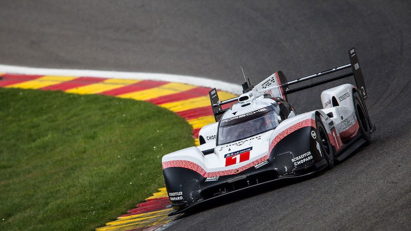Porsche's Unrestricted Le Mans Prototype Is Faster Than An F1 Car