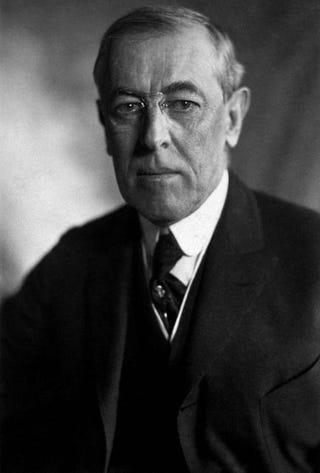 Woodrow WilsonLibrary of Congress via Wikimedia Commons