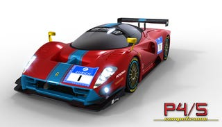 Illustration for article titled Ferrari P4/5 Competizione: First Look