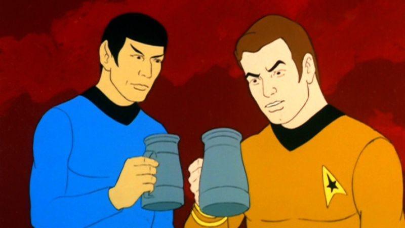 star trek animated series blu ray review
