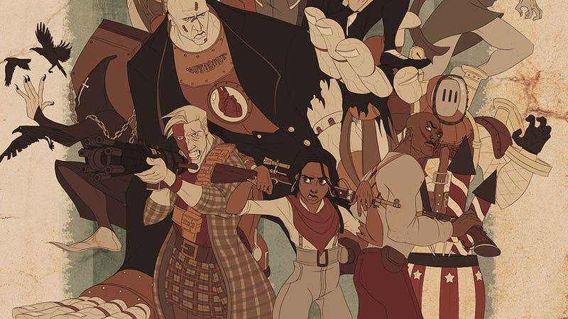Illustration for article titled BioShock Infinite: The Dreamworks Cartoon