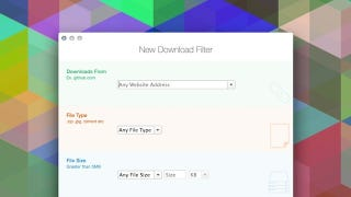 Download Organizer Sorts and Filters Your Downloads Folder