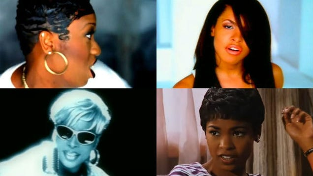 90s Short Hairstyles: 11 Black Hairstyles From The '90s That We Will Never Forget