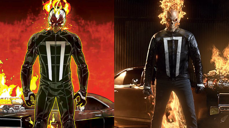 Illustration for article titled Everything You Need to Know About Agents of SHIELD's New Ghost Rider