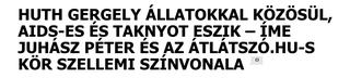 Illustration for article titled Állatszex és kamu Juhász Péter: ekkora cicaharc még nem volt
