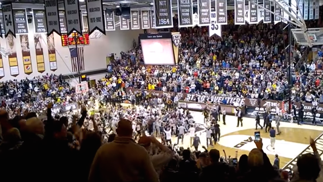 St. Bonaventure Loses After Fans Ruin Game-Winner With Premature Court Storm