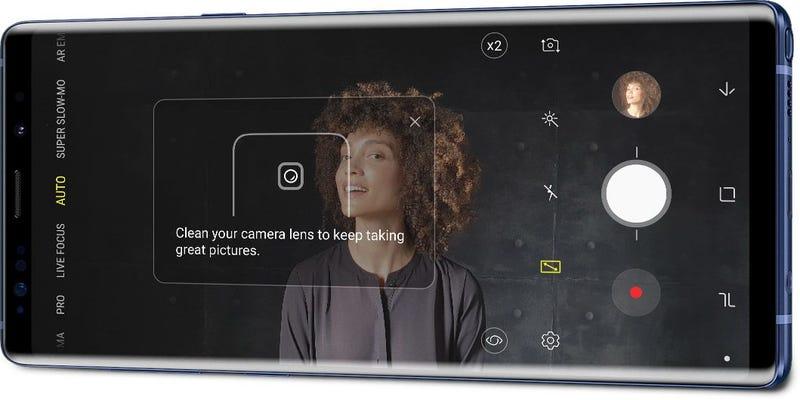Illustration for article titled El Galaxy Note 9 te avisa de los defectos que hay en tus fotos